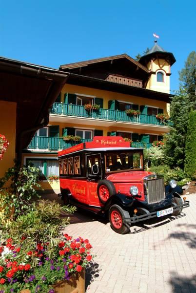 Hotel Pyrkerhof direkt an der Piste, Bad Hofgastein, Rakousko