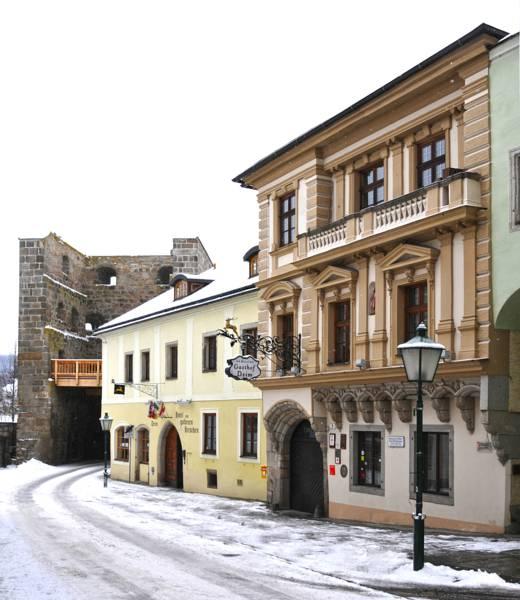 Hotel Zum Goldenen Hirschen, Freistadt, Rakousko
