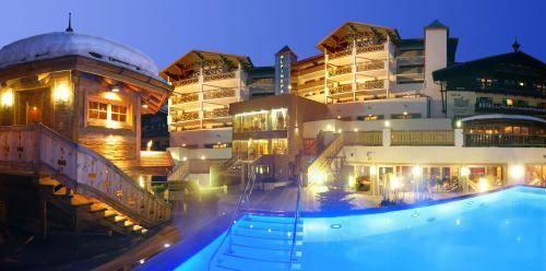 The Alpine Palace New Balance Luxus Resort, Hinterglemm, Rakousko