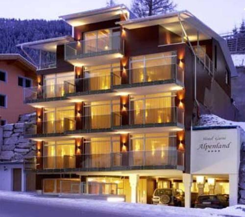 Hotel Alpenland, Sankt Anton am Arlberg, Rakousko