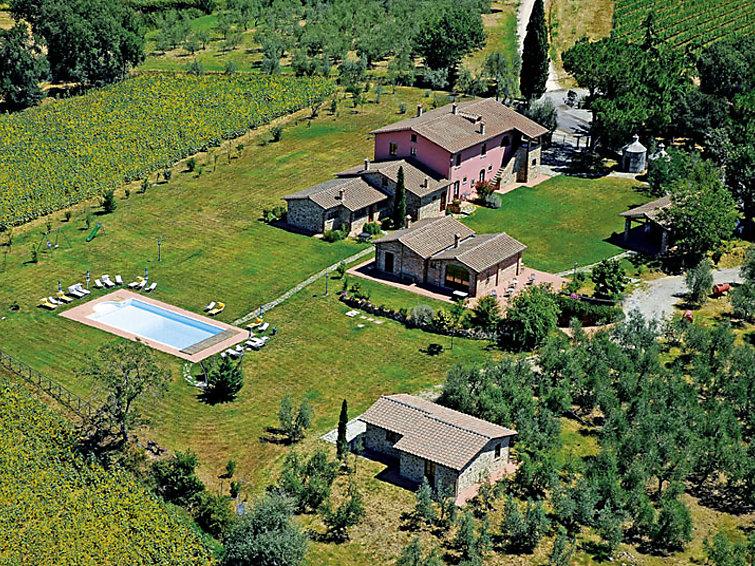 Ubytování v Itálii, Monte San Savino