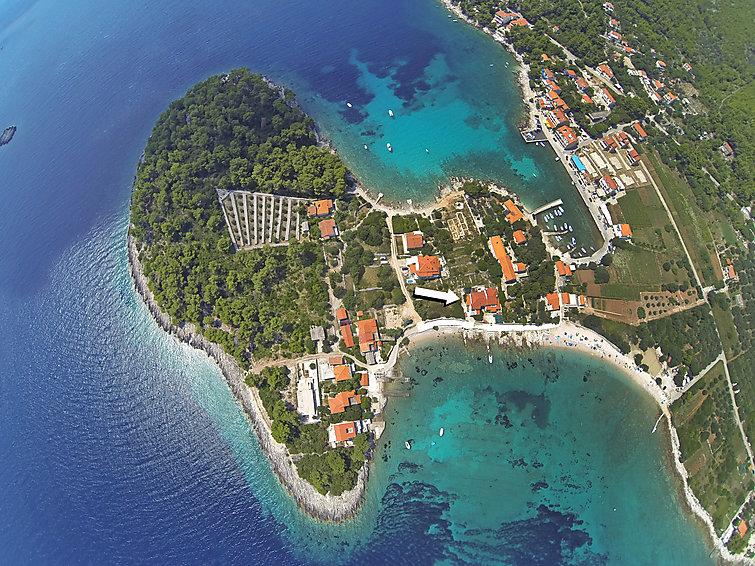 Ubytování v Chorvatsku, Korčula/Prižba