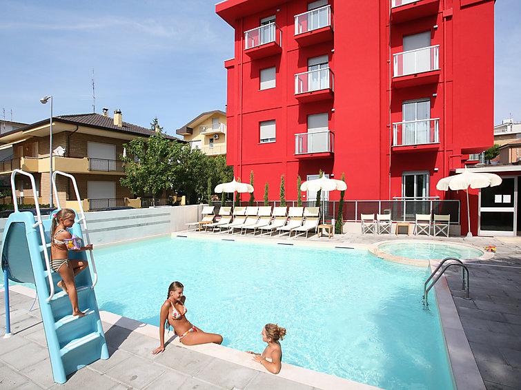 Ubytování v Itálii, Riccione